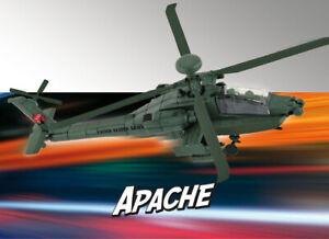 Revell 06453 Build & Play AH-64 Apache, Helicóptero Modelo de Construcción 1:100
