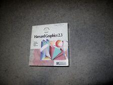 Harvard Graphics 2.3. SPC software. Vintage publishing. Big Box PC