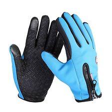 Impermeable Guantes invierno cálido Bicicleta Moto Deportiva Ski Warm Gloves #IP