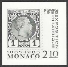 Monaco #1462 1985 Stamp Centenary photographic proof