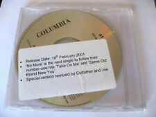 A1 – No More (Cutfather & Joe Mix) Promo CD Single – Columbia ‎– XPCD1336