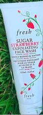Authentic Fresh Sugar Strawberry Exfoliating Face Wash Full Size 4.2 oz In Box