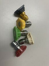 Simpson Pressure Washer Power Wash Spray Nozzle Tips Quick Connect Set of 5 New