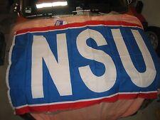 NSU PRINZ,1000,TT,TTS,1200 C,TYP 110 FAHNE,FLAGGE,BANNER 150x87 cm groß