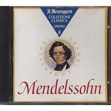 La collezione classica vol.8 Mendelssohn CD EDITORIALE USATO OTTIME CONDIZIONI