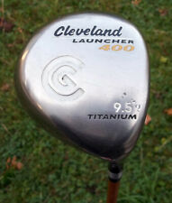 Men's Cleveland Launcher 400 Titanium 9.5° Regular Flex Graphite Driver RH