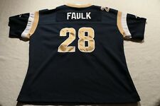 Vintage Los Angeles Rams Marshall Faulk Youth XL Jersey Reebok St. Louis