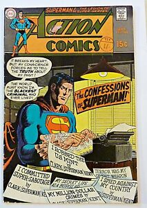 Action Comics 380 DC Comics Silver Age 1969  Superman