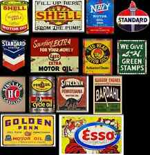 ho scale gas station decals series 4