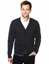 Marks and Spencer Men's Button-Front Medium Knit Jumpers & Cardigans