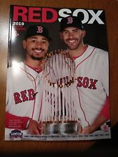 109f2fba8 2019 RED SOX YEARBOOK WORLD SERIES CHAMPIONS MOOKIE BETTS