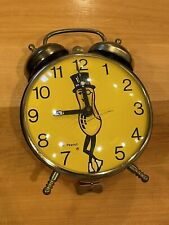 New ListingVintage Planters Mr Planters Peanut Alarm Clock Works1960's Lux great condition
