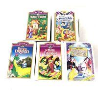 VINTAGE McDonald's Happy Meal Toys Walt Disney Masterpiece Collection Lot 95-96