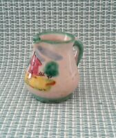 ICS  Vintage? Italian Hand Made  Hand Crafted Mini Pitcher/Creamer  Italy