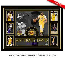 ANTHONY DAVIS - LOS ANGELES LAKERS 2020 NBA CHAMPIONS FRAMED LITHOGRAPH