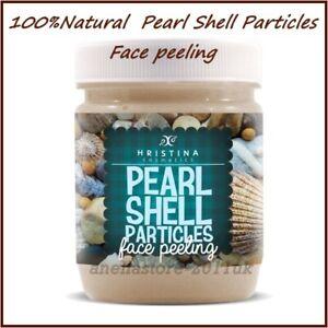 Hristina Cosmetics 100%Natural Product  Pearl Shell Particles Face Peeling 200ml