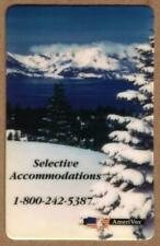 Selective Accommodations: Lake Tahoe Area Cabins, Condos 1993 PROOF Phone Card