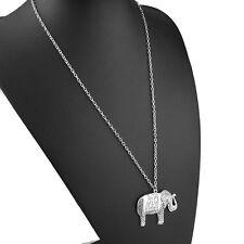 Long Sweater Necklace Pendant Jewelry New Fashion Charm Women Lucky Elephant
