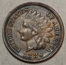 1886 Indian Cent, Type One, Extremely Fine, Scarce - Discounted     0623-08