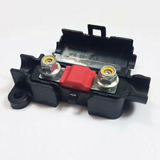 2 x 50 Amp Midi FUSIBILE Rosso + MIDI/striscia di collegamento scatola portafusibili AUTO 50 A