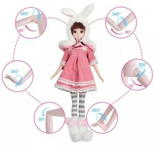 1/6 bjd doll And Clothes New bunny style