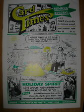 CARD TIMES MAGAZINE FORMERLY CIGARETTE CARD MONTHLY No 58 JULY / AUGUST 1994