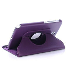 Samsung Galaxy Tab 3 / 8.0 / T310 Premium Rotatable Case Cover with Stand -Purpl
