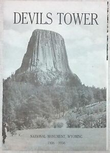 1956 Devils Tower National Monument, Wyoming Brochure b