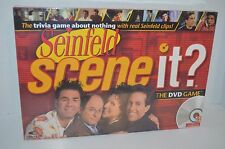 New Seinfeld Scene it DVD Trivia Game Adult Party Clips George Kramer Yada Soup