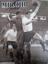 FOOTBALL CHAMPIONNAT STADE FRANCAIS ROUBAIX BEN BAREK N° 28 MIROIR SPRINT 1946