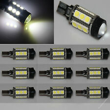 10 X T10 194 White 1.5W + 15 5050 SMD LED Backup Light Bulbs PROJECTOR LENS CREE