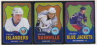 10-11 OPC Mike Commodore /100 Retro Rainbow Black O-Pee-Chee Blue Jackets 2010