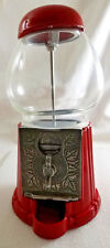 Vintage Metal and Glass Tabletop  Gumball Machine