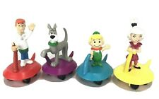 Vintage Jetsons Wendys Lot of 4 Gliders Cake Toppers Applause 1990