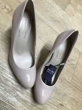 M&S Autograph 'insolia' nude patent leather court shoes UK 3 BNWT HEELS