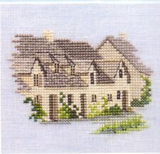 "Derwentwater Designs Minuets Counted Cross Stitch Kit,""Arlington Row"" on Linen"