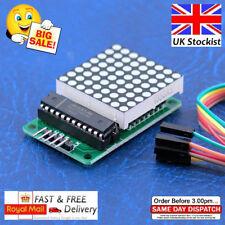 MAX7219 red dot matrix 8X8 module d'affichage avec câbles pour Raspberry Pi Arduino