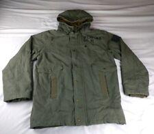 Volcom Men's Sz M Scout 216Vp Military Fatigue Green Parka Jacket Size XL $140