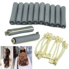 12x Wholesale Cold Wave Rods Rubber Band Slot Hair Roller Curling Wavy Curl Perm