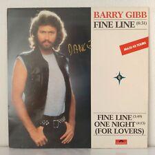 """Barry Gibb – Fine Line (Vinyl, 12"""", Maxi 33 Tours)"""