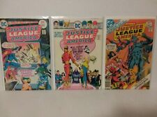 JUSTICE LEAGUE OF AMERICA #119, 121, 146, 153, 158, 163 & ANN. 1 - FREE SHIPPING