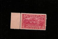 US STAMP 644 RED 2 CENT 1927 Burgoyne at Saratoga  MINT NH OG F CENTERING