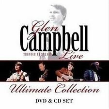 GLEN CAMPBELL Through The Years Live Ultimate Collection CD/DVD BRAND NEW PAL R0