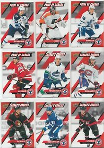 """2021 Upper Deck National Hockey Card Day (Canada) Complete """"17"""" CARD SET"""