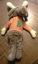 "Vintage Wallace Berrie & Co 1982 Bullwinkle Moose Plush Stuffed Animal 11"" Tall"