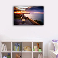 Framed Canvas Prints Stretched Holiday Relax Wall Art Home Decor Painting Gift