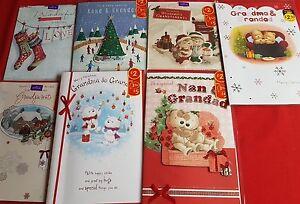 Christmas Cards - Grandma & Grandad,Nana & Grandad, Grandparents,Nan(large post)