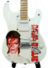 David Bowie Miniature Tribute Guitar (UK SELLER) Ziggy Stardust