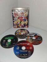 FOR REPAIR Lot of 4 PS3 Games Dragon Ball Raging Blast 2, Turok, Midnight Club
