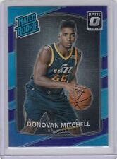 Donovan Mithcell 2017-18 Panini Donruss Optic Rookie RC Purple Prizm
